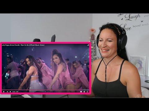 Vocal Coach Reacts -LADY GAGA ARIANA GRANDE - Rain On Me