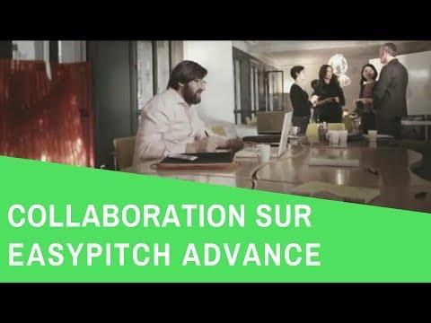 Ecran interactif easypitch : La collaboration 2.0 en entreprise