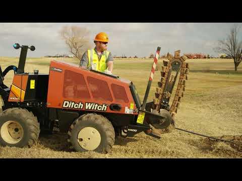 2000 Ditch Witch 410SX - Equipment Demonstration - смотреть