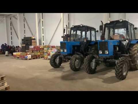 Видео Склад С Холодильным Оборудованием В Аренду   1620 м2   70км от Минска
