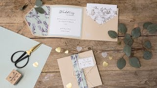 DIY : Homemade Wedding Invitations By Søstrene Grene