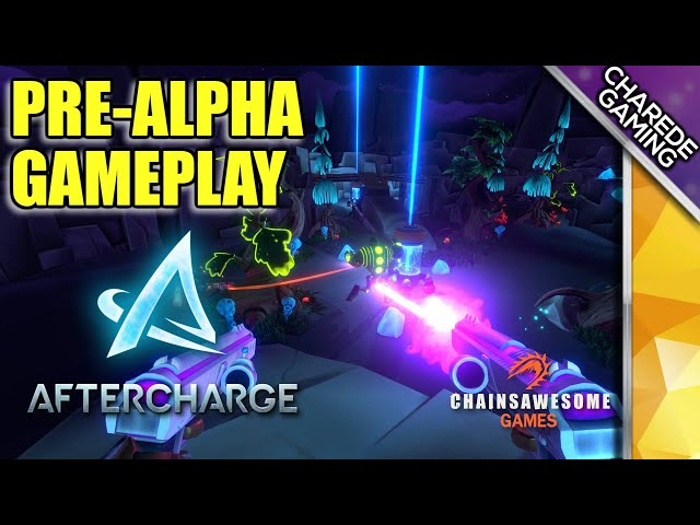 Aftercharge Pre-Alpha Gameplay: Walled In By Enemies | Ep 03 | Charede Game Early Access & Previews