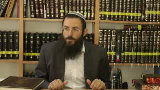 איסור והיתר - סימן ק הרב אריאל אלקובי שליט''א