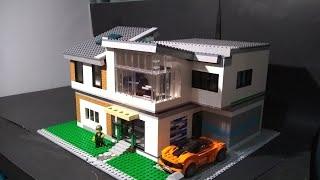 Huge Detailed Modern Lego House Moc