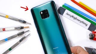Huawei Mate 20 Pro Durability Test! - The Back is Different