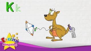 K là cho Kangaroo, Key, Kite - Letter K - Alphabet Sông