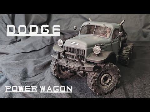 Dodge Power Wagon 1/18: Atlas 6x6 Mods