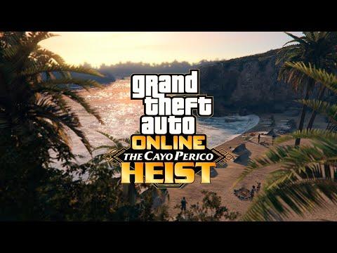 GTA Online : Teaser Cayo Perico de Grand Theft Auto V