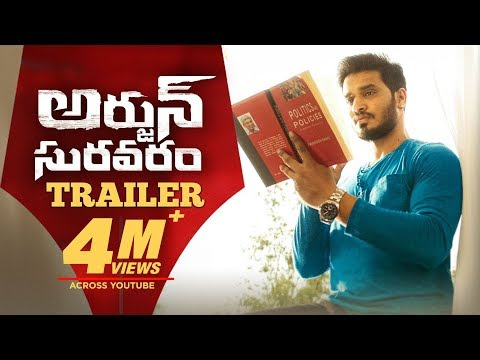 Arjun Suravaram Movie Official Trailer