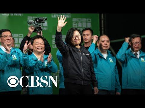 Tsai Ing-wen sweeps election in Taiwan