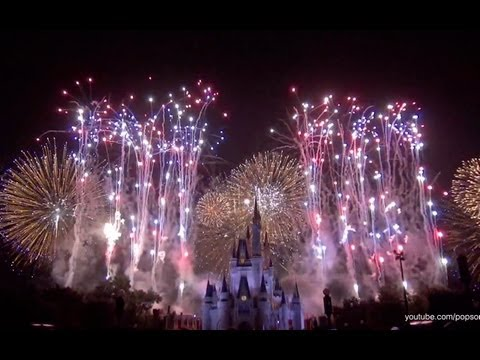 Disney's Celebrate America! - A Fourth of July Concert in the Sky Fireworks Walt Disney World 4th