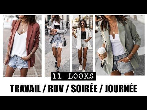 11 looks en blazer - TRAVAIL / SOIRÉE / RDV / JOURNÉE