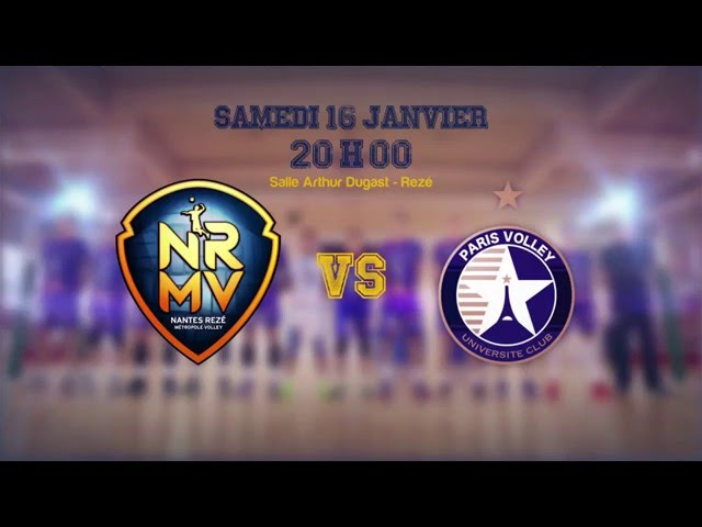 NRMV vs Paris Volley