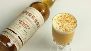 SANTA'S WHISKEY FLIP with Spicebox Canadian Whisky!