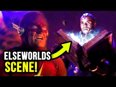 The Monitor's Plans REVEALED in Elseworlds Crossover SCENE!