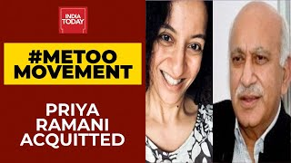Priya Ramani Acquitted In Defamation Case Against Former Union Minister MJ Akbar | #MeToo Movement - Download this Video in MP3, M4A, WEBM, MP4, 3GP