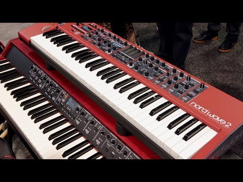Nord Wave 2 Synthesizer - NAMM 2020