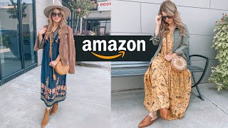 Amazon Summer To Fall Dress Styling Haul!