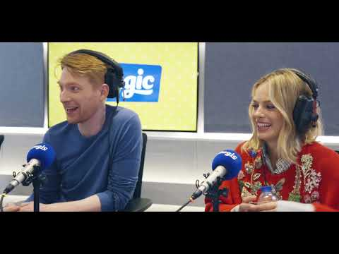 Domhnall Gleeson, Margot Robbie – and the difficulty of ordering a Starbucks! | Magic Radio