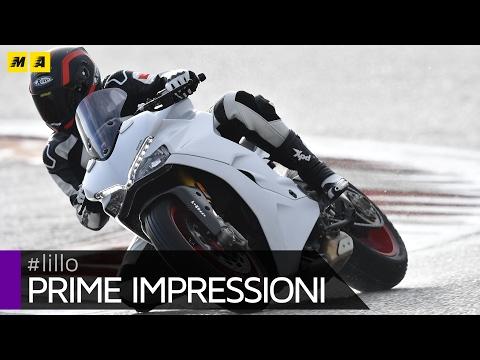 Ducati SuperSport 2017 Test [ENGLISH SUB]