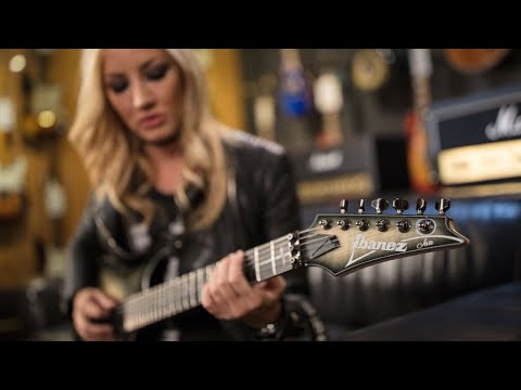 Ibanez Nita Strauss JIVA10 Signature Electric Guitar | Overview