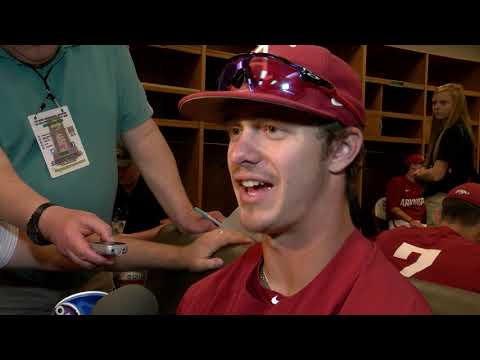 Casey Martin College World Series Practice Day Interview 6-14