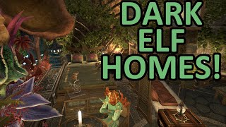 ESO | Dark Elf House Tours!