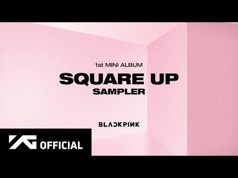 Cd Blackpink Square Up Black Pink Ver Poster Importado R 150