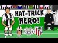 💪🏼RONALDO HAT-TRICK HERO!💪🏼(Juventus vs Atletico Madrid 3-0 Parody Song Goals Highlights)