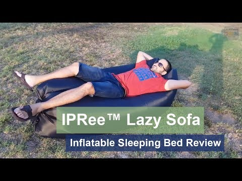 IPRee™ Outdoor Travel Lazy Sofa Fast Air Inflatable Sleeping Bed review