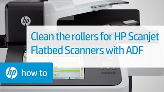 Cleaning The Rollers On HP Scanjet Flatbed Scanners With An ADF | HP Scanjet | HP