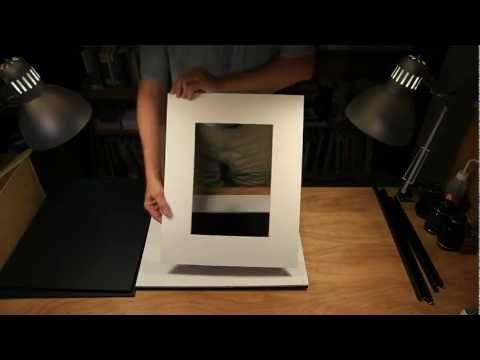 Framing a Print for Gallery Display