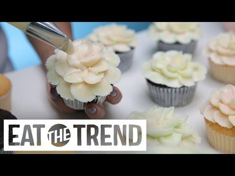Magnolia Bakery Hibiscus Flower Cupcake | Eat the Trend