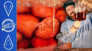 Make Easy, Tasty, Strawberry Liqueur With A Twist!