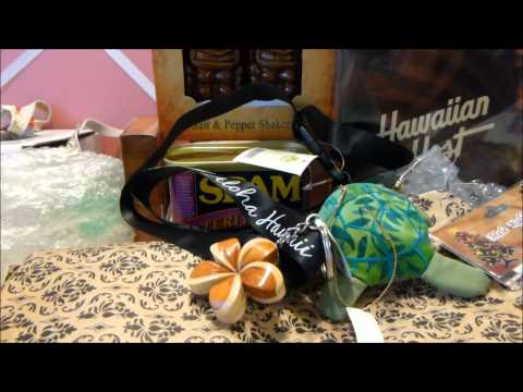 Video Oahu and Maui Souvenir Haul - October 2014