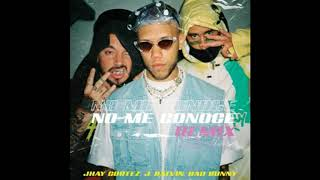 Jhay Cortez Feat. J Balvin Y Bad Bunny   No Me Conoce    Remix  (Audio)