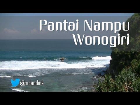 Video Pantai Nampu Wonogiri