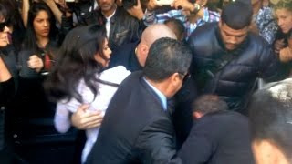 TOTALLY CRAZY  Kim Kardashian Screaming As She Gets ATTACKED By Vitalii Sediuk In Paris