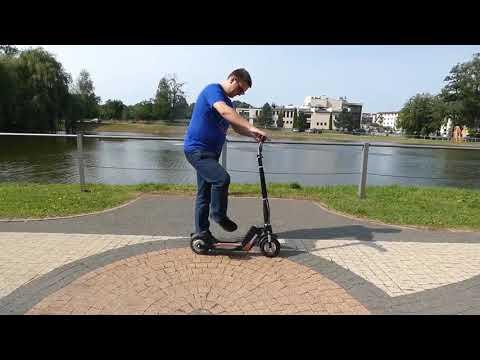 TEST Airwheel Z5 Foldable Electric KickScooter   Airwheel Greece