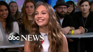 Teen Dance Prodigy Maddie Ziegler Discusses Her Memoir Live On GMA