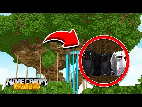 These DRAGONS LIVE IN TREES?! - Minecraft Dragons S2