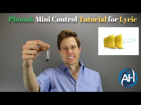 How to use the Phonak Mini Control Magnet Wand – Lyric Hearing Aids