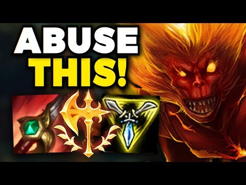UHH.. RIOT?? WUKONG IS NOW THE BEST JUNGLER IN THE GAME! BRAINDEAD BRUISER WUKONG JUNGLE GAMEPLAY!