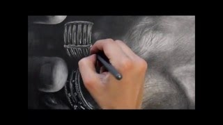 Drawing Pencil Hyperrealism – Time-Lapse – EQUILIBRIO INFRANTO – Silvia Pagano Art