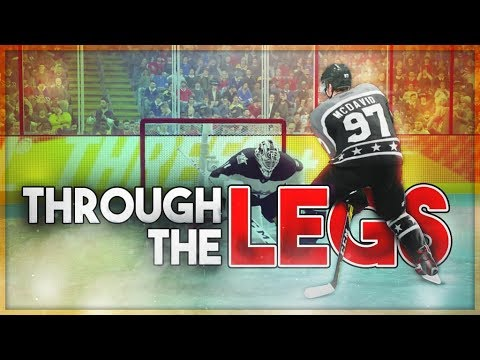 THROUGH THE LEGS DEKE ONLY CHALLENGE! (NHL 18 BETA)