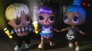 НОЧЬ В ШКОЛЕ! Мультики куклы лол и Барби. Подруги Буги Вуги