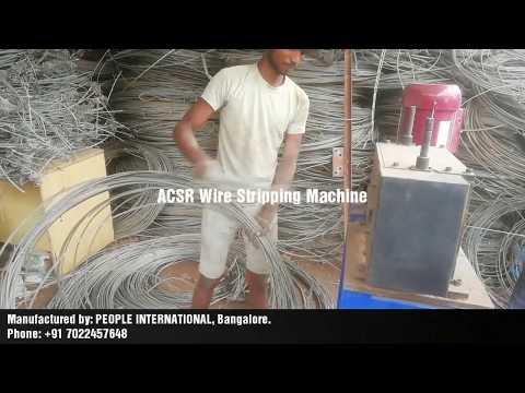 ACSR Wire Stripping Machine