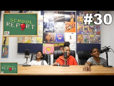 THE SCHOOL REPORT #30 - FT JANIA - DOES JANIA AND JR HAVE A CRUSH ON EACH OTHER? DID AALIYAH CURSE?