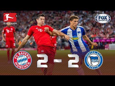 TUDO IGUAL NA ESTREIA DA BUNDESLIGA! Melhores momentos de Bayern de Munique 2 x 2 Hertha Berlin