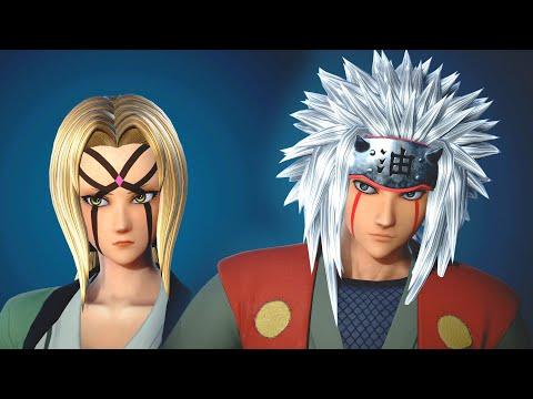 Jump Force - Jiraiya & Tsunade Costumes DLC Gameplay (Cosplay)